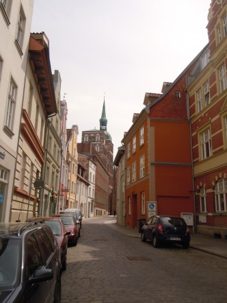 Knieperstrasse, Alter Markt, Stralsund, Unescos liste over Verdensarven