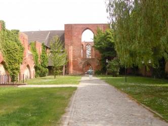 Johanniskloster, klosterruin, kirke, Unesco, Stralsund