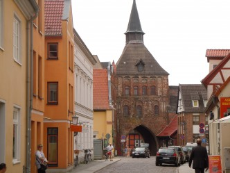 Kütertor, Stralsund, Unesco, Nord-Tyskland