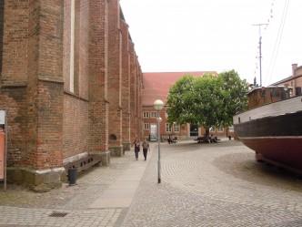 Katharina-kloster med Meeresmuseum, Stralsund, Unesco