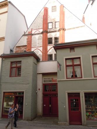 Museumshaus, Stralsund, Unesco, Nord-Tyskland