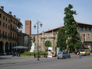 Vicenza, Nord-Italia, Palladio, Teatro Olimico