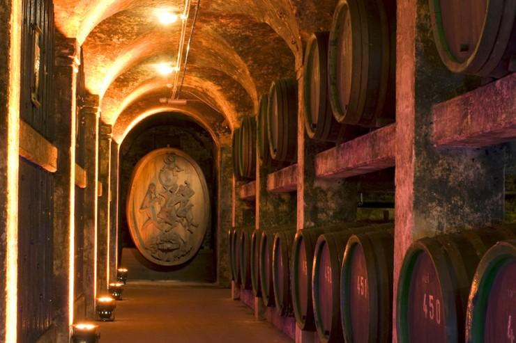 Bremer Ratskeller er en skattkiste bestående av tyske viner - det eldste fatet er fra år 1653 og inneholder drikkbar vin! Foto: © Manuela Gang / BTZ Bremer Touristik-Zentrale