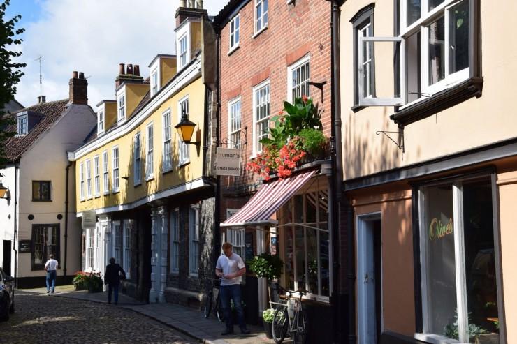 Fra ultrakoselige Elm Hill i gamle Norwich. Foto: © ReisDit.no