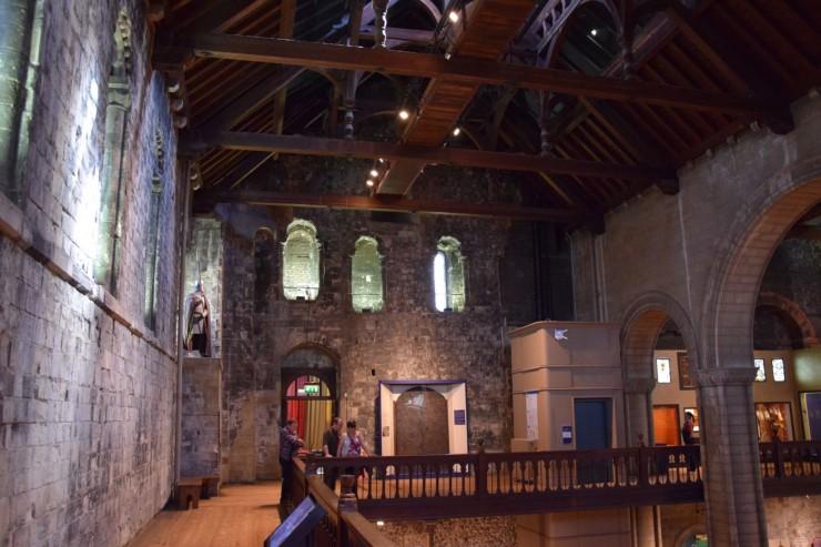 Mye av det du ser her inne i Norman Castle er fra 1200-tallet. Foto: © ReisDit.no