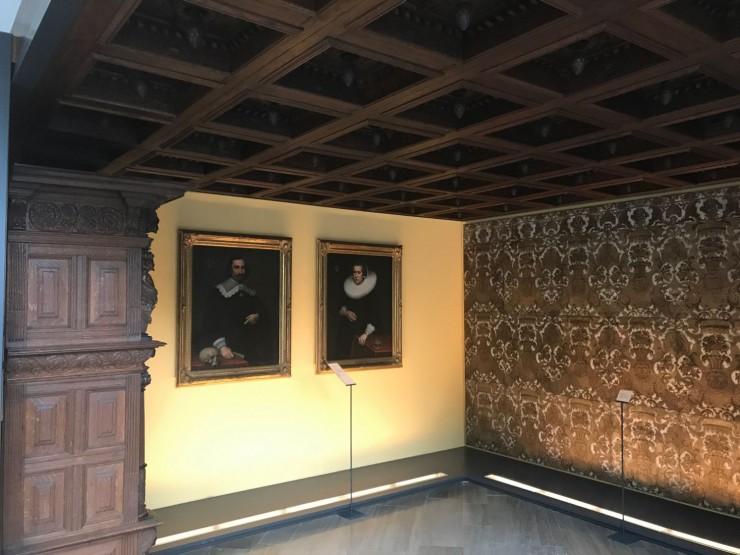 I Fockemuseum er det blant annet utstilt interiører fra velstående kjøpmannshus. Foto: © ReisDit.no