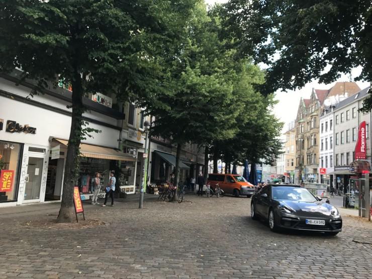 "Fra Bremens livlige kvarter, ""Viertel"". Foto: © ReisDit.no"