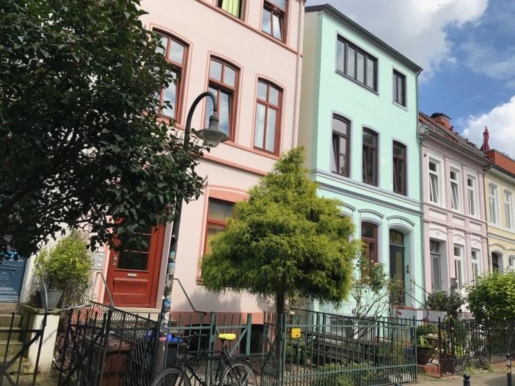 """""""Viertel"""" består i stor grad av nyrenovert eldre bebyggelse. Foto: © ReisDit.no"""