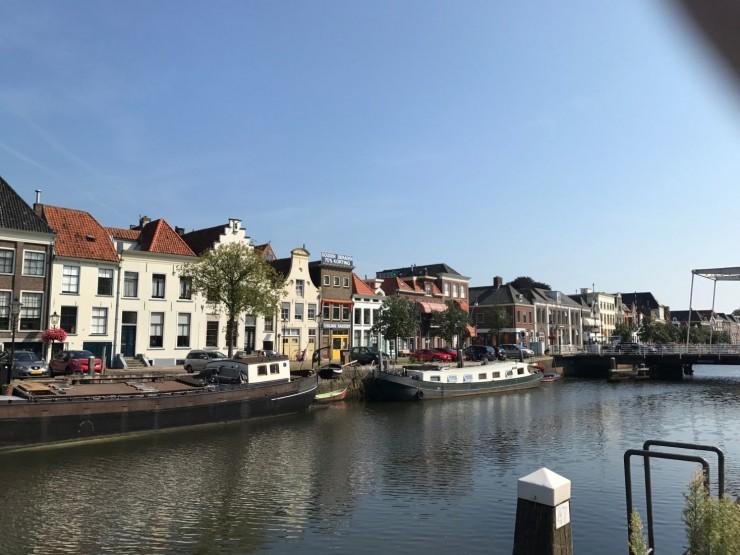 Zwolles havneområde - byen var i middelalderen medlem av Hanseat-forbundet. Foto: © ReisDit.no