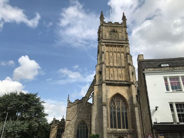 Cirencester Parish Church. Foto: © ReisDit.no