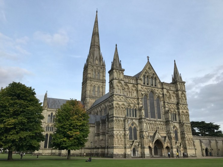 Hovedrollen i The Close innehas av Salisbury Cathedral. Foto: © ReisDit.no