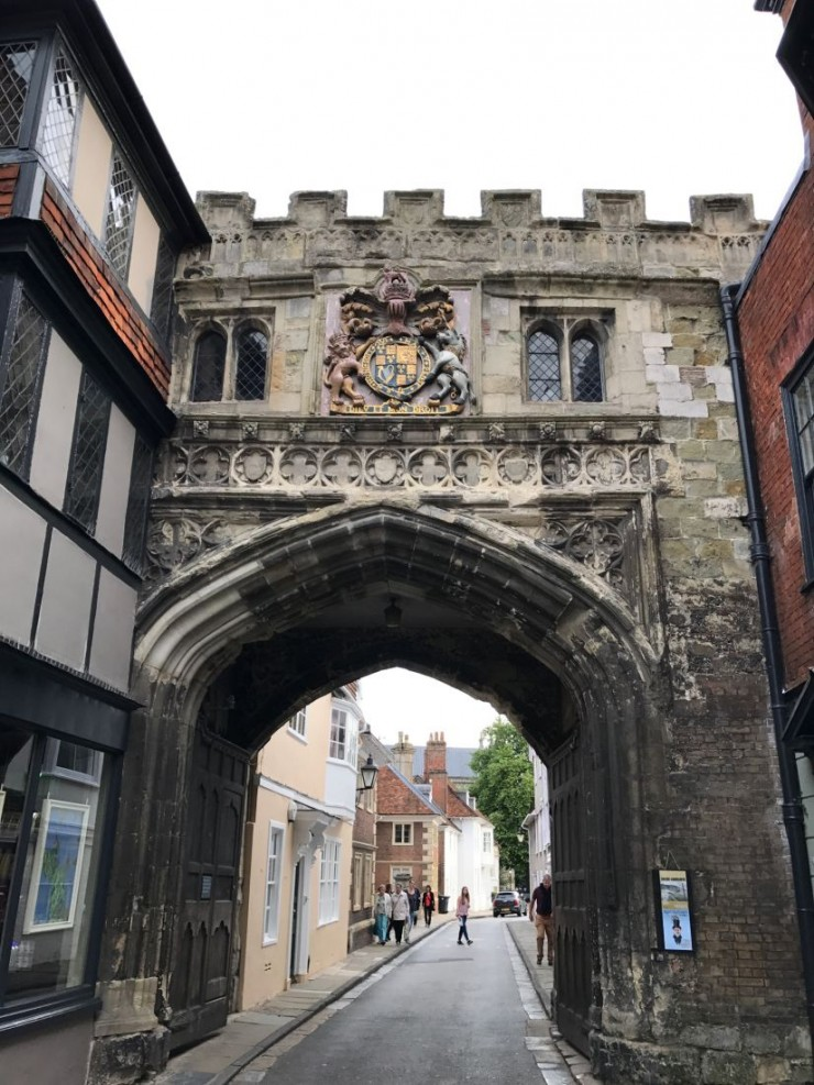North Gate sett fra utsiden. Foto: © ReisDit.no