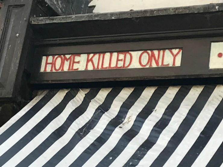 Er man slakter, så er man slakter. Foto: © ReisDit.no