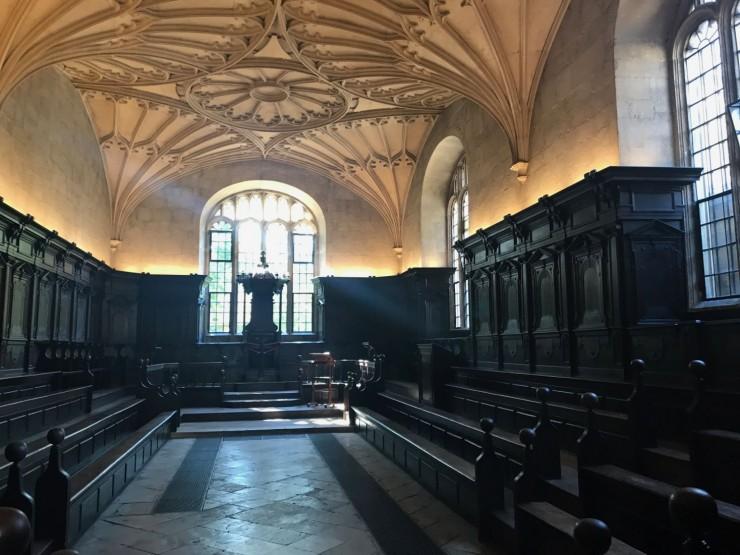 Fra Convocation Room, også det beliggende i Bodleian Library. Foto: © ReisDit.no