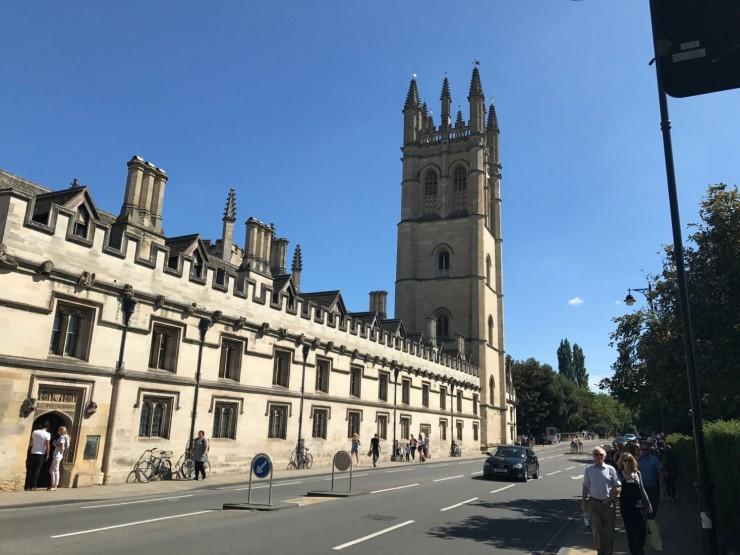 Magdalene College er det første jeg møter av gamle Oxford. Foto: © ReisDit.no