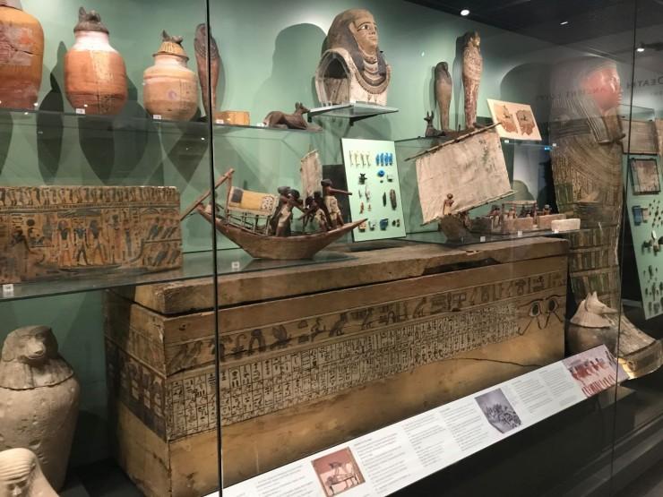 Fra den egyptiske avdelingen i Ashmolean Museum. Foto: © ReisDit.no