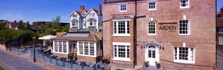 The Arden Horel i Stratford upon Avon var lekkert. Foto: The Arden Hotel