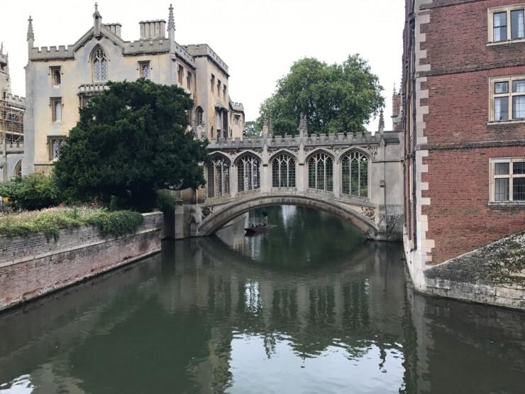 Bridge of Sighs i Cambridge-utgave - Venezia har som kjent originalen. Foto: © ReisDit.no