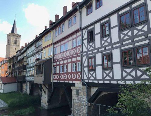 33 dager på 2 hjul – del 10: Erfurt og Weimar