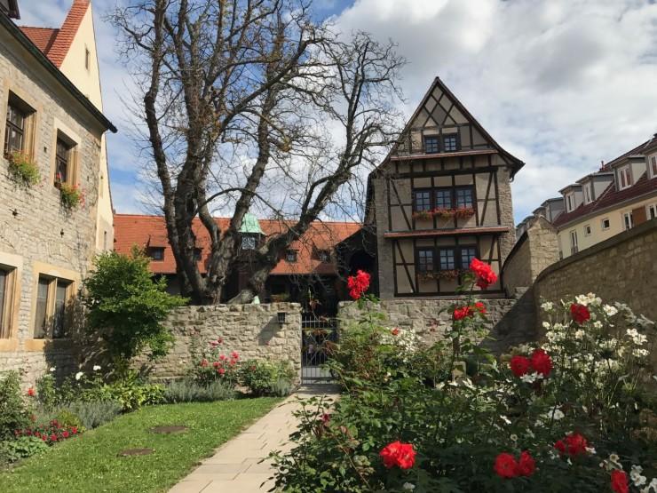 Augustinerkloster der Martin Luther ble tatt opp som novise i år 1505. Foto: © ReisDit.no