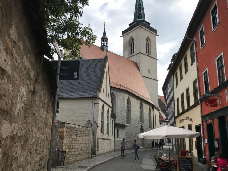 Gamlebyen i Erfurt er artig å utforske på egenhånd. Foto: © ReisDit.no