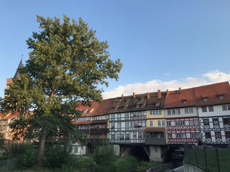 Farvel Krämerbrücke og vakre, åpne og hyggelige Erfurt. Takk for denne gangen! Foto: © ReisDit.no