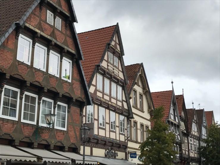Celle er byen som tar vare på sine bindingsverkshus. Foto: © ReisDit.no