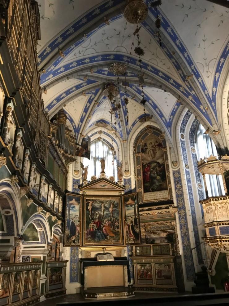 Fra kapellet i Schloss Celle. Foto: © ReisDit.no