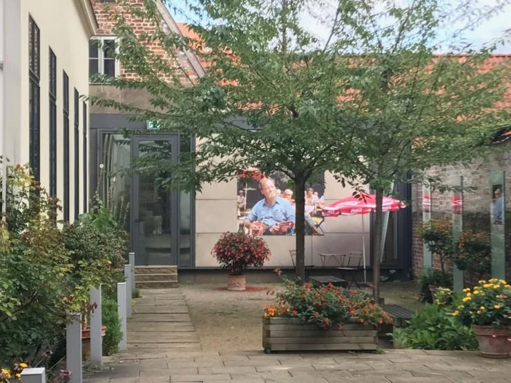 Willy Brandt Haus har utstillinger både ute og inne. Foto: © ReisDit.no