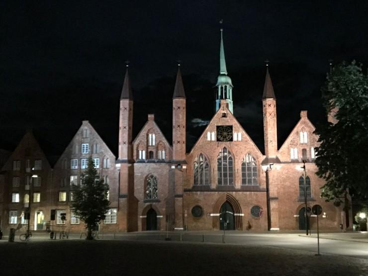 Heiligen-Geist-Spital var det største sykehuset i Nord-Europa i middelalderen. Foto: © ReisDit.no