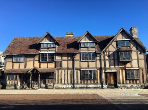 Stratford-upon-Avon, William Shakespeare, middelalder, bindingsverk, Shakespeare's Birthplace, Clopton Bridge, Anne Hathaway, Mary Arden, New Place, Hall's Croft, John Hall, Holy Trinity Church