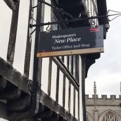 Stratford-upon-Avon, William Shakespeare, The Bard, middelalder, bindingsverk, Shakespeare's Birthplace, Clopton Bridge, Anne Hathaway, Mary Arden, New Place, Hall's Croft, John Hall, Holy Trinity Church