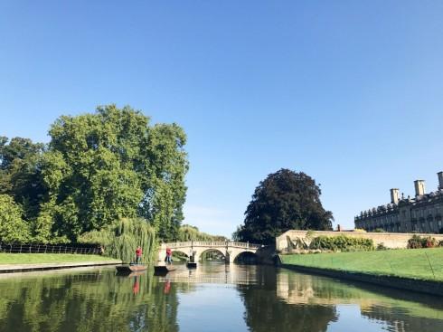 Cambridge, Cambridgeshire, Cambridge University, River Cam, King's College Chapel, Trinity, King's grade, Fitzwilliam Museum, Madelene Bridge, Bridge Street, St. Bene't's Church, Great St. Mary, Bridge Street