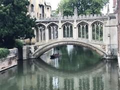 Cambridge, Cambridgeshire, Cambridge University, River Cam, King's College Chapel, Trinity, King's grade, Fitzwilliam Museum, Madelene Bridge, Bridge Street, St. Bene't's Church, Great St. Mary, Bridge Street, St. John's College, Bridge of Sighs