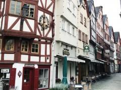 Limburg an der Lahn, Domberg, Dom St Georg, Limburger Dom, Römer, Hessen, gotisk, romansk, middelalder, bindingsverk, Fischmarkt, Rossmarkt, Bischofsplatz, Plötze, Fachwerk-Strasse