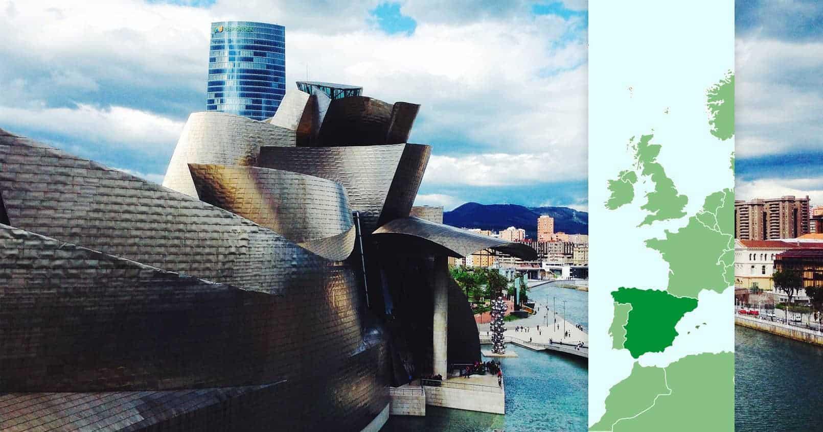 Spania, Bilbao, Guggenheim museum, ReisDit.no