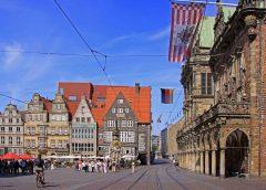 Bremen, Altstadt, Historisk, Middelalder, Marktplatz, Nord-Tyskland, Tyskland