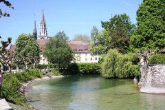 Münster, kloster, Middelalder, Konstanz, Bodensee, Sør-Tyskland, Tyskland