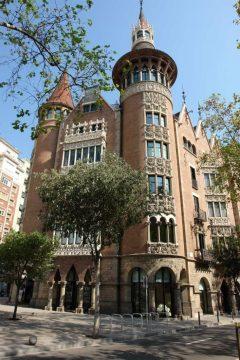 Casa Terrades, Avinguda Diagonal, Barcelona, katalansk, Unescos liste over Verdensarven, Catalunia, Spania