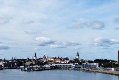Panorama, Rådhusplassen, Tallinn, historisk, gamleby, Estland, Unesco Verdensarven, Estland, Baltikum