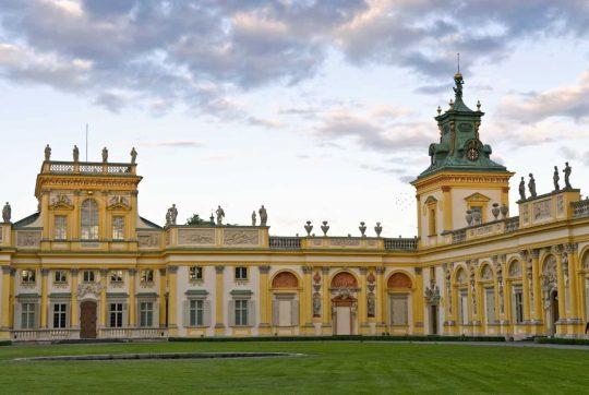 Wilanow-palasset, Warszawa, Unesco Verdensarv, Wisla, Midt-Polen, Polen