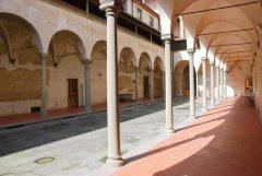 Firenze, Ospedale degli Innocenti, renessanse, middelalder, Unescos liste over Verdensarven, historisk bydel, gamleby, Toscana, Midt-Italia, Italia
