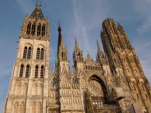 Cathédrale Notre Dame, Rouen, bindingsverk, Vieux Ville, Unescos liste over Verdensarven, Normandie, Vest-Frankrike, Frankrike