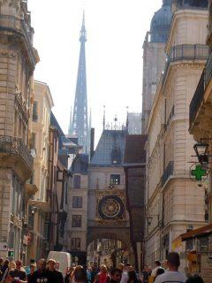 Cathedrale Notre Dame, Gros Horloge, Rouen, bindingsverk, Vieux Ville, Unescos liste over Verdensarven, Normandie, Vest-Frankrike, Frankrike