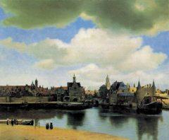 Delft - byen slik Johan Vermeer malte den i år 1660-61