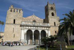 Duomoen i Monreale, Palermo, Sicilia, normannisk, Sør-Italia, Italia
