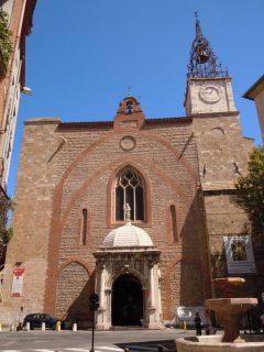 Cathédrale St.-Jean, Perpignan, middelalder, Sør-Frankrike, Frankrike