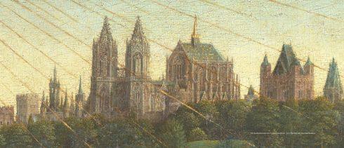 Gent Sint Jaans Kerk (detalj) Jan van Eyck @lucasweb.be