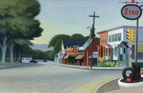 Basel Edward Hopper Portrait of Orleans