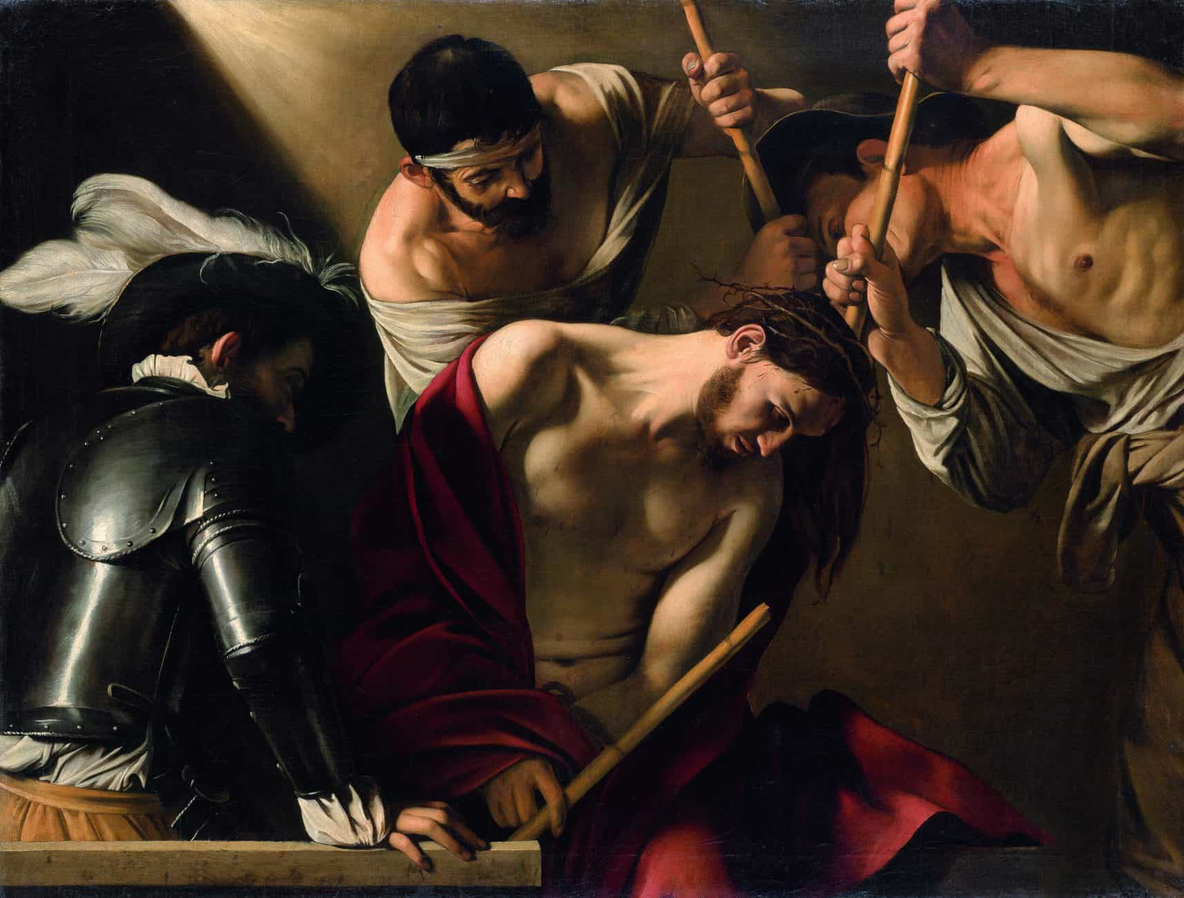 Rijksmuseum-Caravaggio-The-coronation-of-Thomas